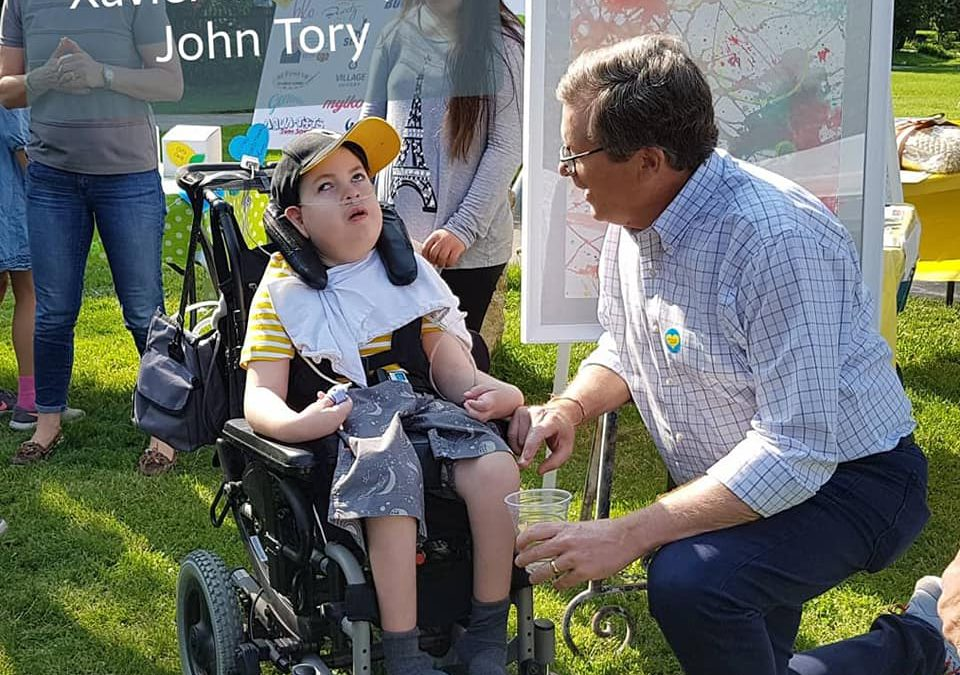 Silver Creek Pre-School enjoyed a visit from Mayor John Tory at the annual Lemonade for Love fundraiser